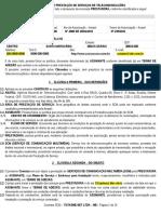 Contrato de Prestação SCM