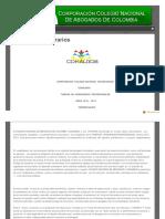 Tarifas Abogados 2012-2013 CONALBOS