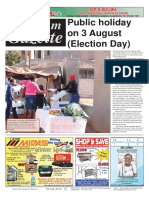 Platinum Gazette 29 July 2016