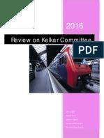 Kelkar Committee