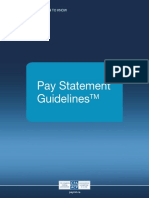 Pay Statement Guidelines English