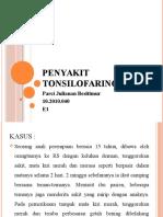 Penyakit Tonsilofaringitis