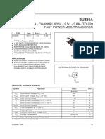 BUZ80A Datasheet.eeworld.com.Cn