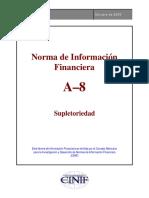 NIF a-8 Supletoriedad