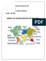 Impact of Globalization on Pakistan111