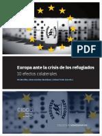 Europa Ante La Crisis de Los Refugiados