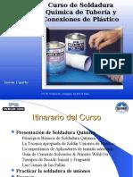 Curso de Soldadura Qumica en Tuberia