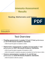 2016 MCA Results Presentation
