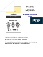 Complete Lapbook Insects