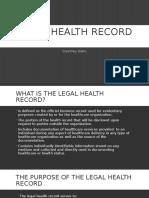 hr legal health record presentation
