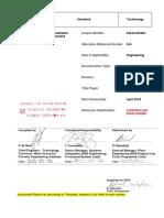 240-61227631 Piping and Instrumentation Diagram Standard Rev 1