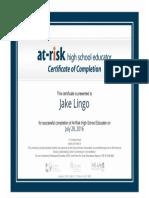 certificateofcompletion 24 jakelingo