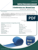 Woundcare2016 Announcement