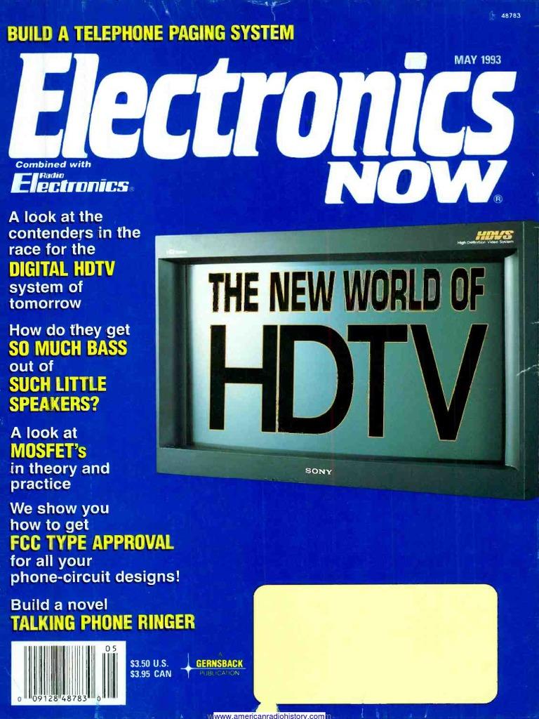 En 1993 05 Digital Television High Definition Voice Scrambler Or Descrambler Circuit Diagram Electronic
