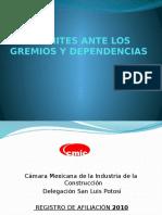 04 TRAMITES ANTE LOS GREMIOS Y DEPENDENCIAS.pptx