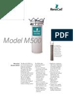 Data Sheet m500