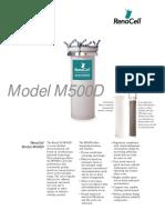 Data Sheet m500d