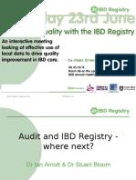 IBD Audit & Registry - Where Next?
