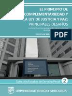 PRINCIPIO DE COMPLEMENTARIEDAD