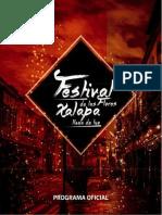 Cartelera Festival de las flores, Xalapa llena de luz