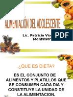 Alimentacion del Adoslescente-Lic. Patricia Violante.ppt