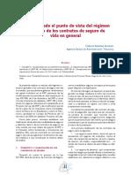 Equidad Desde El Punto de Vista Del Régimen Tributario de Los Contratos de Seguro - Arvera Alonso