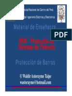 Unidad 6 Protección de Barras 2015