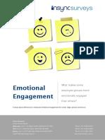 Emotioemployee engagementnal Engagement Study