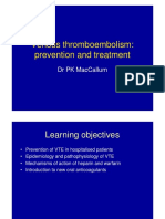 Venous Thrombo-embolism Prevention Dr P MacCallum 14.15 FULL PAGE