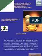 Buenas Prácticas Agrícolas y de Manufactura