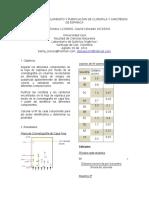 Cromatografía Aislamiento y Purificacíon de Clorofila y Carotenos de Espinaca