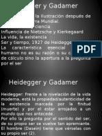 Estética Comunicación Heidegger -Gadamer