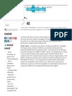Giuseppe Di Giugno e Il Processore 4X