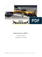 Cost Benefit Analysis - Mobile Barriers MBT-1- Public