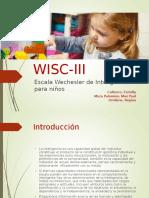 Wisc III Upla