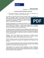 Boletín SEJ 20-05-2010
