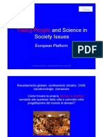 Young People and Science in Society Issues