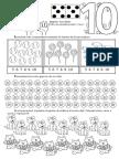 Numarul Si Cifra 10 FISA de LUCRU