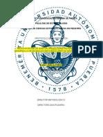 Benemérita Universidad Autónoma de Puebla Protocolo
