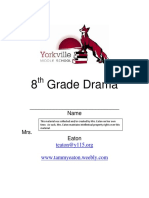 8th grade drama workbook 201617
