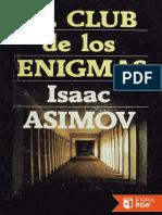 El Club de Los Enigmas - Isaac Asimov