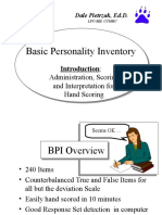 BPI Interpretation