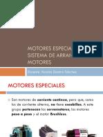 Motores Especiales Arranque