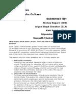 Case Analysis_United Breaks Guitars