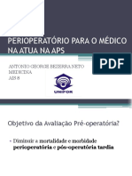 Pre Operatorio Para o Medico Da Aps