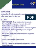 6. Coaching Method Part 1