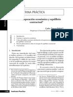 Contrato Operacion Economica y Equilibri
