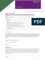 Licensing Windows Embedded 8 VL Brief