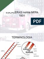 Escaleras Norma Nfpa 1931