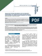 Análise de Fatores Bioquímicos Que Favorecem o Aparecimento de Cardiopatologias